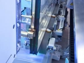 Insulating glass machinery for Hartung glass industries