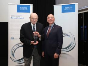 Sheldon Wiederhorn, Ph.D. of the National Institute of Standards and Technology in United States received the 14th Otto Schott Research Award