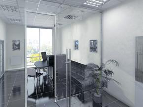 "New Fallbrook Series Partition System from C.R. Laurence Creates ""Halo"" Frame Profile in All-Glass Office Fronts"