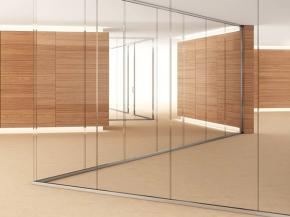 Glass walls for offices: we propose settings