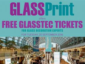 GlassPrint offers free glasstec tickets