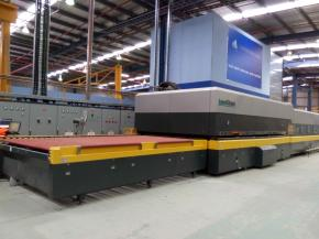 One More LandGlass Top Convection Glass Tempering Furnace in Australia