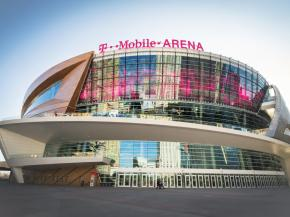 New T-Mobile Arena features cold-formed glass by J.E. Berkowitz