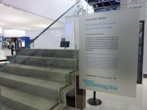 Unique glass stairs introduced at glasstec