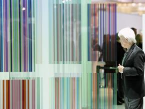 "Colourful glass world: This year, the special show ""glass technology live"" will once again present numerous innovative solutions for building interiors."