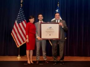 Diamon-Fusion International (DFI) Receives Presidential Award for Export Successes