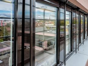 Finstral fitted frames at Bad Kreuznach local authority offices