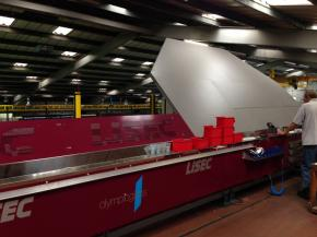 Lisec bender boosts SWISSPACER sales at Olympic Glass
