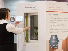 Making a noise about innovative Quiet Mark-certified windows