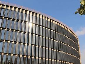 a2-solar designs solar modules for one of Europe's largest solar glass facades