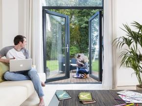 Using glazing innovation to create a home office