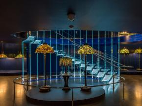 Striking glass staircase unveiled at New York Historical Society