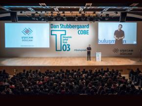 Dan Stubbergaard, the founder and creative director of COBE