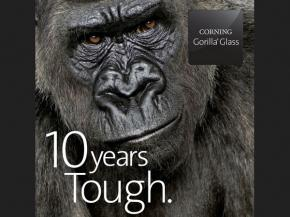 Corning® Gorilla® Glass, introduced in 2007, marks a brilliant 10-year milestone