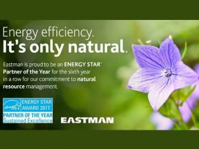 EPA Recognizes Eastman with 2017 ENERGY STAR® Partner of the Year