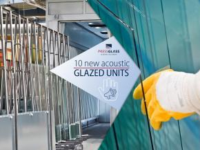 10 new acoustic glazed units in the Press Glass offer