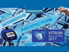 Prodim exhibiting at Vitrum 2017