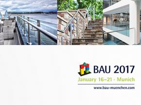 BAU 2017: Discover the ultimate in railings