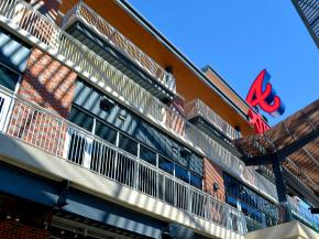 The Braves Have a New Home in Atlanta's SunTrust Park, Featuring 41,000 seats and 41,000 Feet of Railing