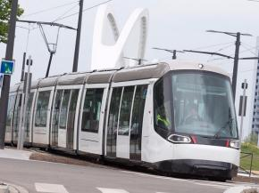 Saint-Gobain aboard the first French cross-border tramway