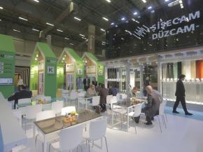 Şişecam Flat Glass Introduces Innovative Products at TurkeyBuild Exhibition