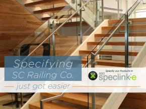 SC Railing Company Joins SpecLink – Creating Ease of Railing Specification