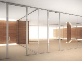 Mobile glass walls of the TRUELIGHT collection