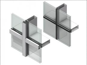 ThermaWall TW2200 – 2″ (50.8mm) curtain wall that delivers superior thermal performance