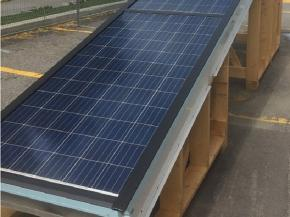 Finished BIPV/T roof module