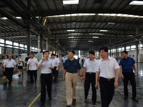 Vice Governor Zhang Weining of Henan Province Visited LandGlass