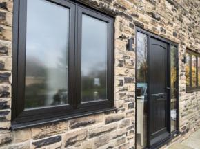 ADM Windows uses Spectus Flush Casement windows to recreate traditional aesthetics in a farmhouse