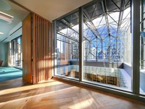 Thinking beyond windows: Creative glass applications
