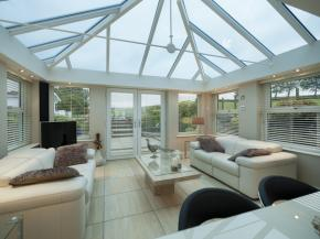 Conservatory Glass Roofs from Prefix