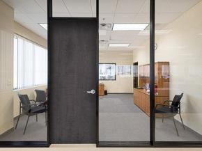 C.R. Laurence Introduces the Series 487-AR Double Glaze Interior Office Partition System