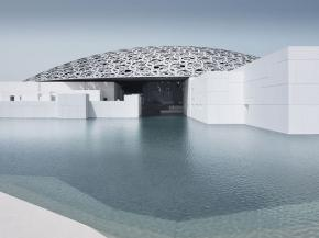 The idea of creating a sister museum to the Louvre in Paris arose from a cross-national agreement between the governments of Abu Dhabi, the capital of the UAE, and France in 2007. Photo: TDIC Design Ateliers Jean Nouvel