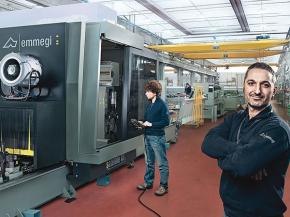 Great support for a great product: Emmegi machining centres