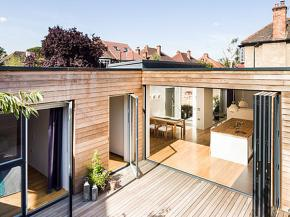 Glazing Vision Case Study: Courtyard House, South East London