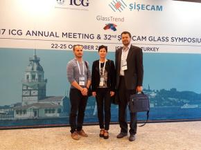 Funglass at the 2017 ICG Annual Meeting & 32nd SISECAM Glass Symposium