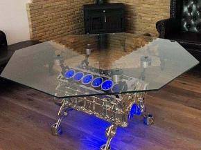 Bespoke glass furniture by Tufwell