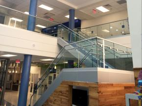 Glass Railings for a Safer and Brighter Learning Environment