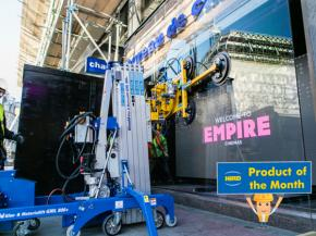 Go-to lifter in a tight spot – the GML 800+ counterbalance floor crane