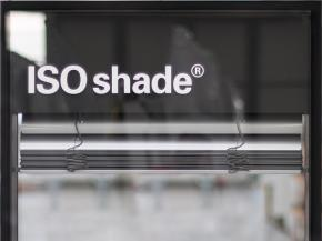 ISOshade® is an insert element to be installed in high-performance façades and combines sun, heat and noise protection in a compact unit. ©iconic skin