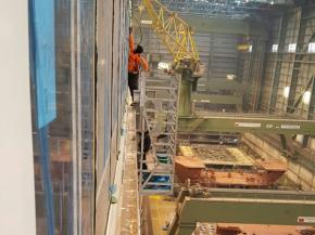 Another great marine project deep cleaning & protecting 15,000m2 of glass on the Norwegian Joy