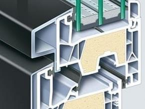 PVC-U windows with new thermal insulation technology
