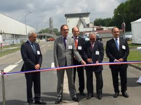 With its new Aniche-Emerchicourt float line, Saint-Gobain invests in the continuity of its plants and jobs in the region