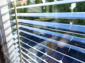 SolarGaps: generating energy while providing shade in your home