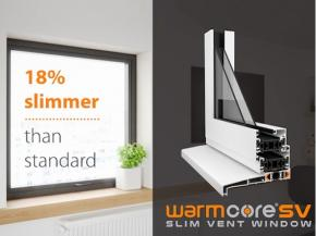 WarmCore launches slimmer window ahead of FIT