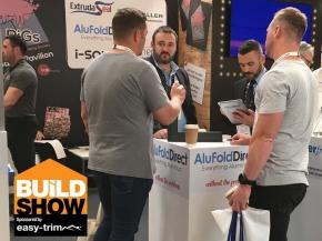AluFoldDirect on the PiGS Pavilion at the Build Show