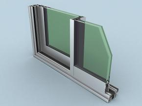 ALUGOM exhibits its new Alg 65 and Alg 75 sliding windows