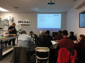 Bohle America Completes Another Successful Set of UV Bonding Training Sessions